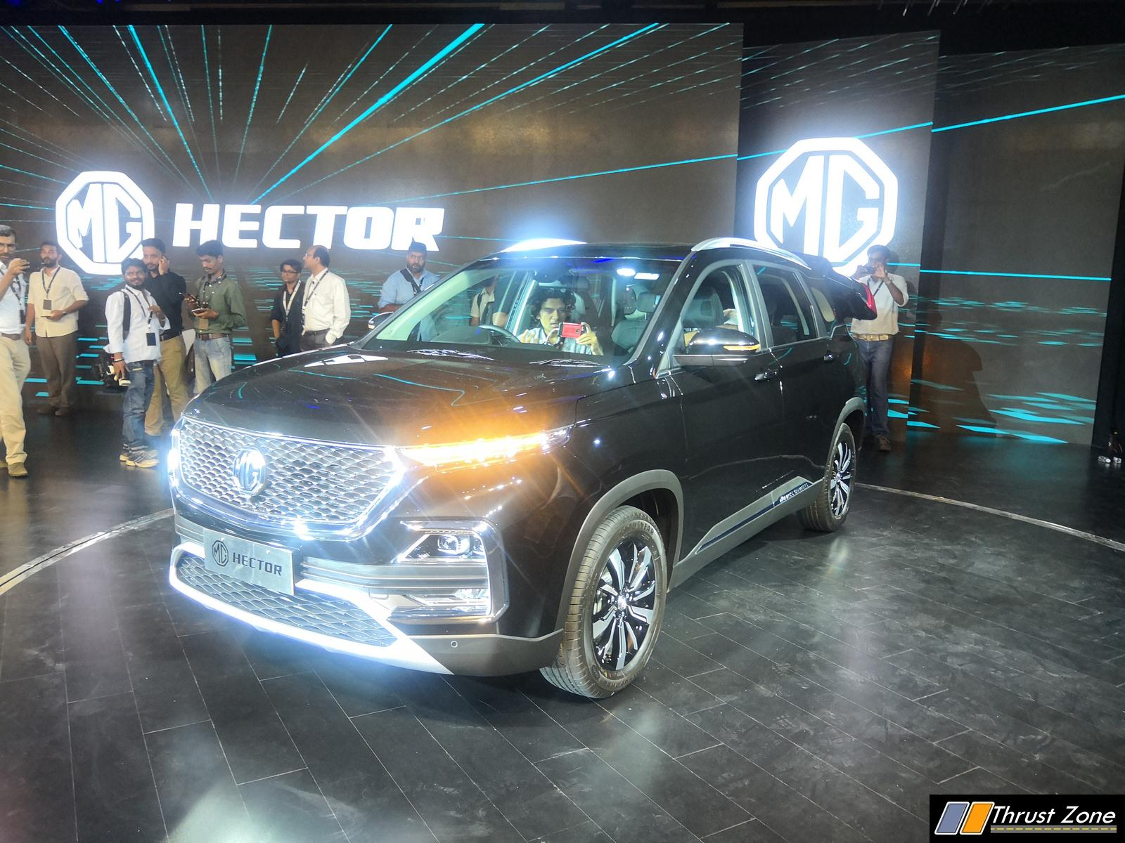 Mg Hector Suv India Launch Price Specs Interior