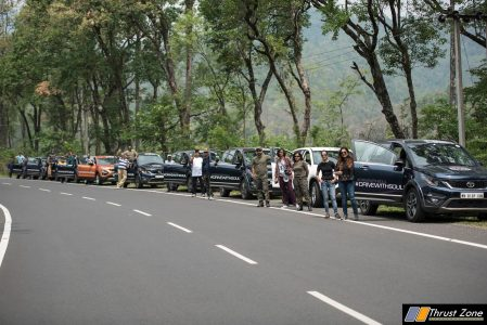Tata Motors announced the commencement of its 1st International Iconic SOUL drive to Bhutan (4)