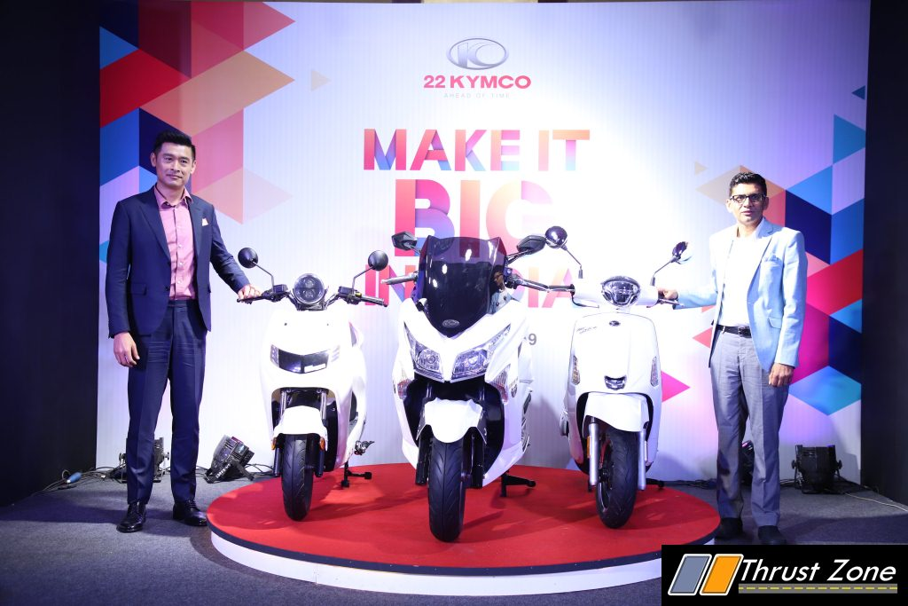22 KYMCO Launches iFlow Like200 and X-Town 300i in India (1)