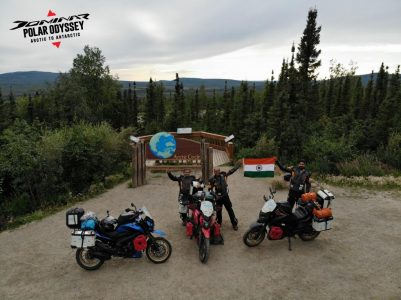 Its Official! Dominar Creates History - First Indian Motorcycle To Do Polar Odyssey! (2)
