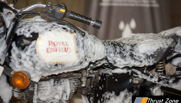 Royal Enfield Implements Dry Wash In Chennai To Save Water In City Amid Crisis (2)
