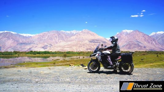 Adventurous Benelli TRK 502x Reaches Khardungla (3)