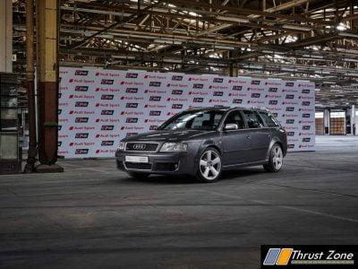 Audi RS 6 Avant (Typ C5), daytona grey