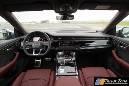 Audi SQ8 TDI Cockpit Interior
