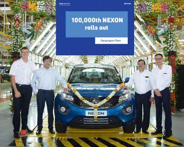 Tata Motors Nexon 1 Lakh Units