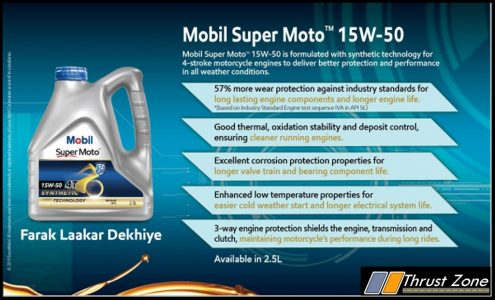 Mobil Super Moto Synthetic Technology