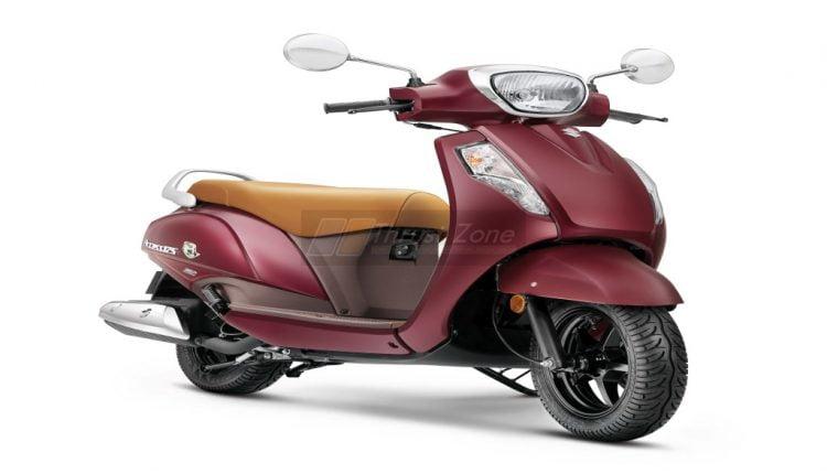 Suzuki Access125 SE – Metallic Matte Bordeaux_1