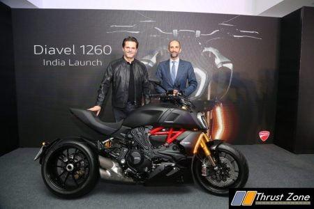 Ducati Diavel 1260 India Launch (2)