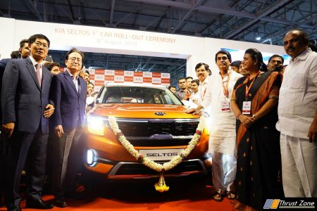 First Kia Seltos rolls out from the Kia Anantapur Manufacturing Unit-India (2)
