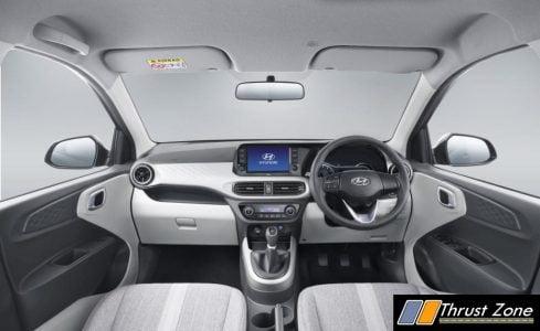 GRAND i10 NIOS interior