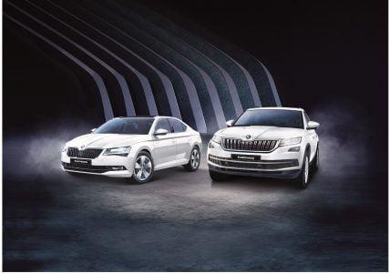 ŠKODA AUTO Corporate Edition UPERB and KODIAQ model range