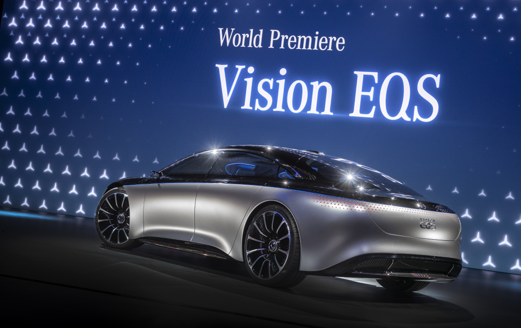 Mercedes-Benz VISION EQS: