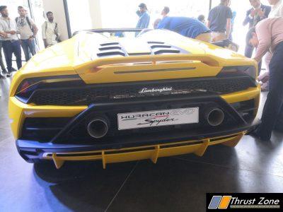 Lambo Evo Spyder India Launch Done (10)