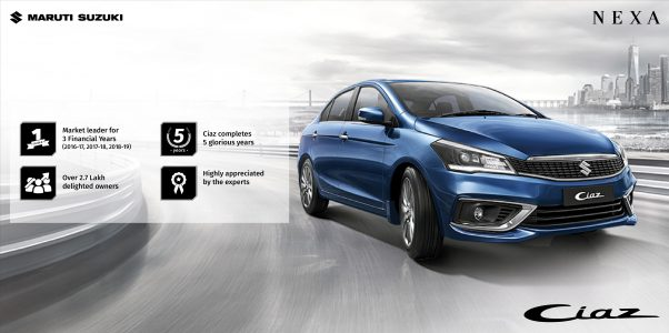 Maruti Suzuki Ciaz continues its dominance for 5 years