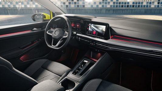 2020 new Volkswagen Golf interior