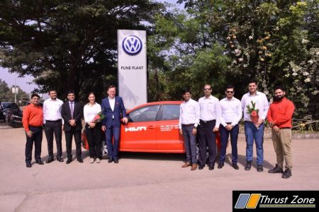 100 units Delivered of the Volkswagen Polo to Hilti (2)
