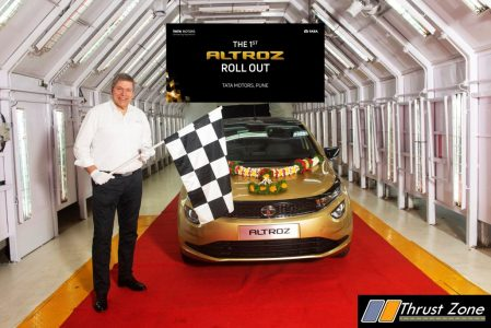 First Tata Altroz Rolled Out (1)