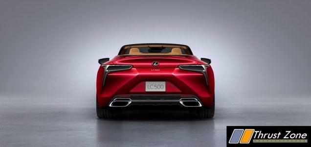 Lexus LC 500 Convertible india launch (3)