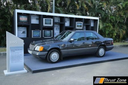 W124 The first Mercedes-Benz rolled out at MB India plant in 1995