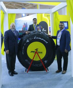 JK TYRE 23.1-26 SIZE V-Compact Tyre Launched