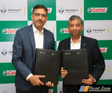 Renault and Castrol India
