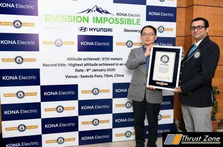 Hyundai Kona Electric Enters Guinness World Records (2)