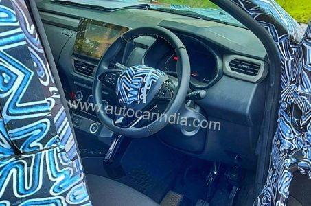Renault Kiger spied india suv (1)