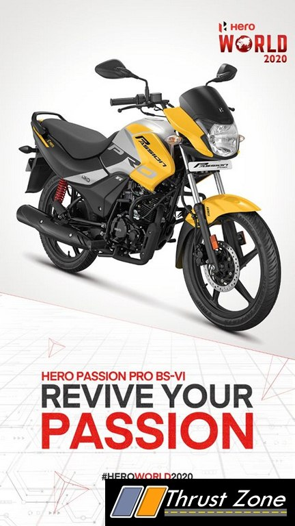 2020 Hero Passion Pro 110 Bs6 Launched Know Details