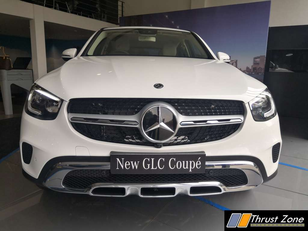 2020 Mercedes-Benz GLC Coupe Facelift India Launch (7)