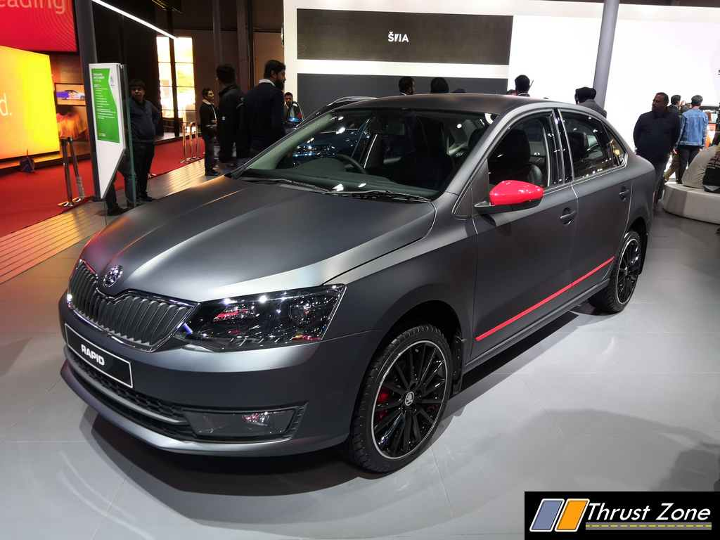 Bs6 Skoda Rapid Tsi Engine Ready For Launch 1 Litre Tsi Motor Showcased At Auto Expo 2020