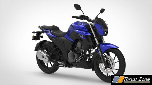 Yamaha FZ 25 BS VI Racing Blue
