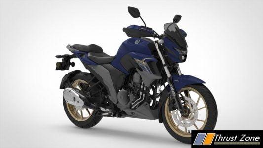 Yamaha FZS 25 Dark Matte Blue
