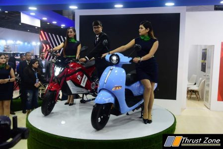 Harsh Didwania, EeVe India unveils e-bike 'Tesero' and e-scooter 'Forseti' at Auto Expo 2020
