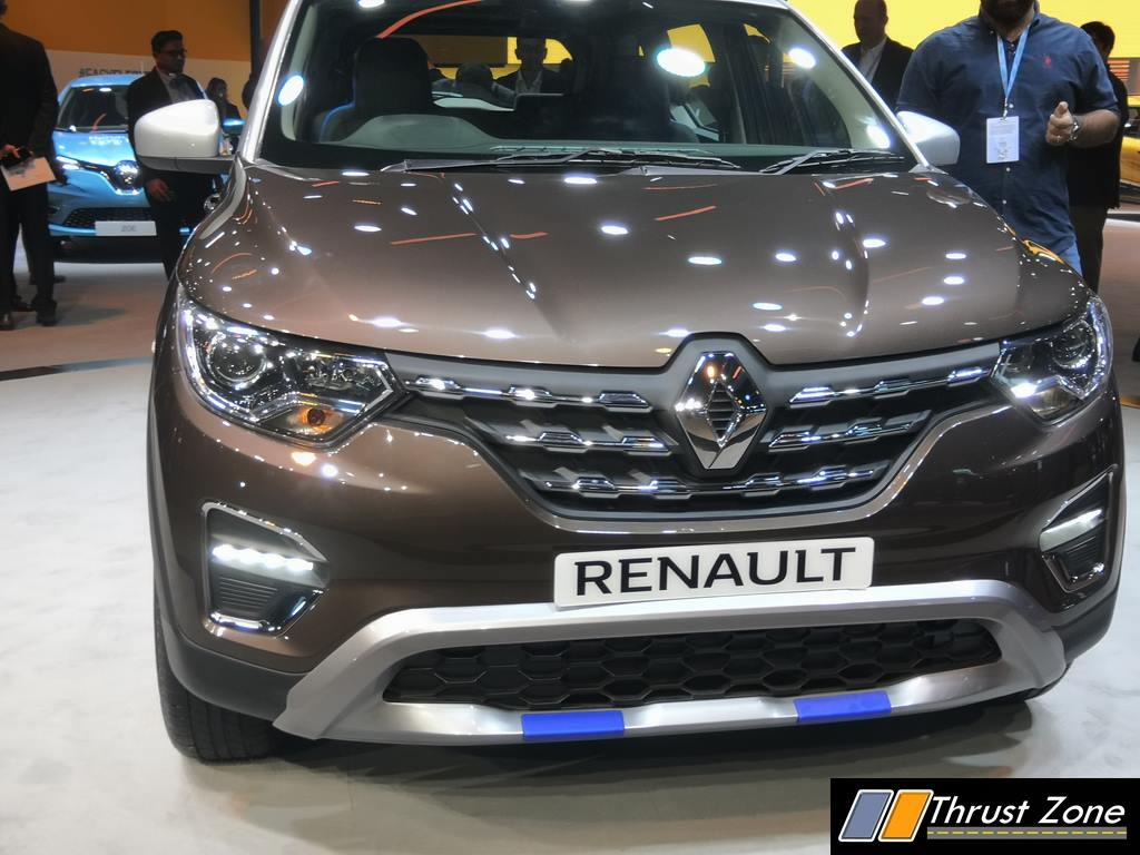 Renault Triber Amt Automatic Revealed At Auto Expo 2020