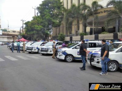 Hyderabad Police Vehicles To Be Sanitised By Mahavir Group (2)