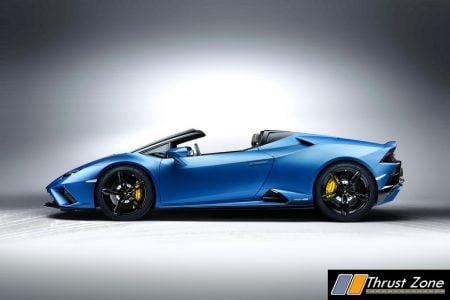 2020 Lamborghini Huracán EVO Rear-Wheel Drive Spyder India (6)