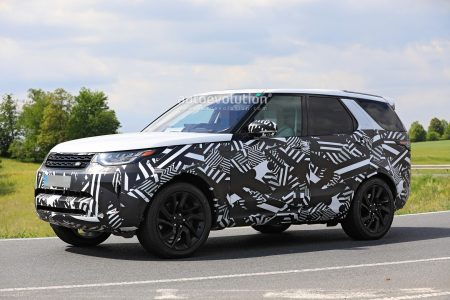 2021 Land Rover Discovery Facelift Spied (2)
