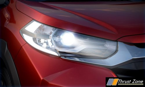 NEW ADVANCED LED PROJECTOR WITH INTEGRATED DRL AND POSITION LAMPS 2020 BS6 Honda WR-V