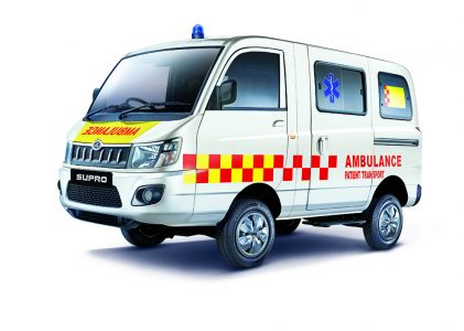 mahindra supro bs6 ambulance