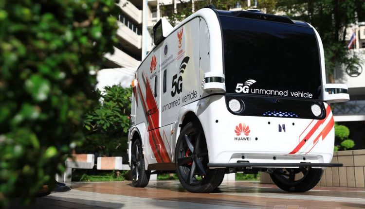 Huawei And Thailand National Broadcasting TC Start Working On Unmanned Vehicle Project (2)