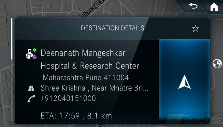 Mercedes GLS India Model Comes With Direct Navigation Nearest Covid-19 Hospital (3)