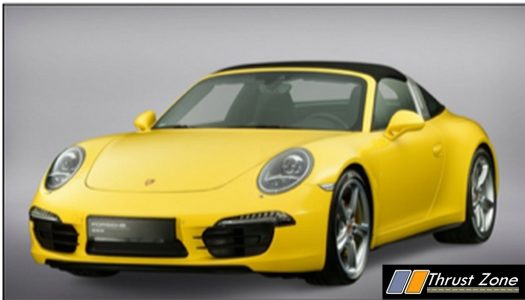 seventh and fully redesigned 911 generation porsche