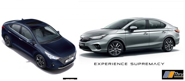 2020 Hyundai Verna Vs 2020 Honda City