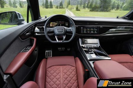 2021 Audi SQ7 TFSI Cockpit