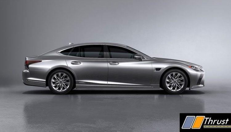 2021 Lexus LS Revealed – Radar and Light Technology Updated (3)