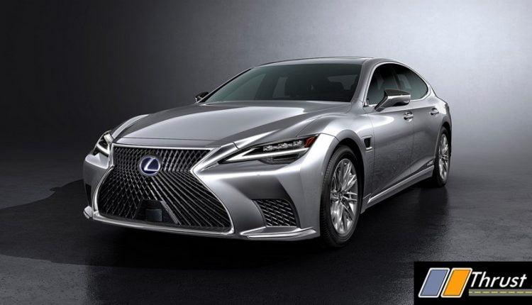 2021 Lexus LS Revealed – Radar and Light Technology Updated (4)
