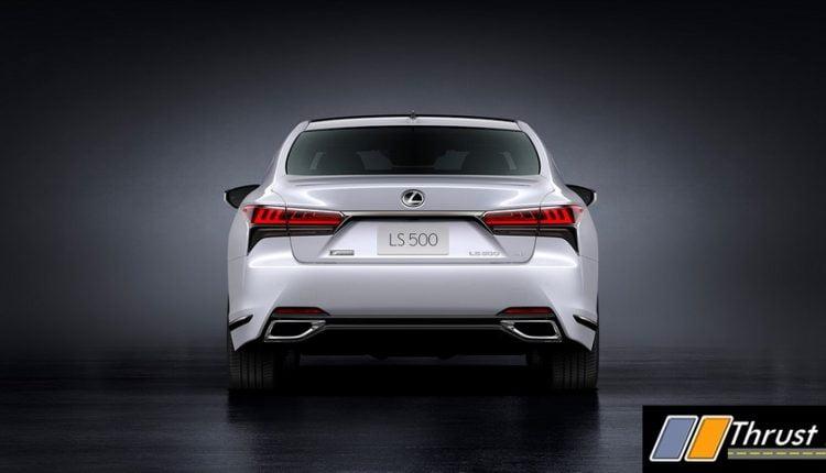 2021 Lexus LS Revealed – Radar and Light Technology Updated (5)