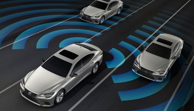 2021 Lexus LS Revealed – Radar and Light Technology Updated (8)