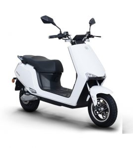 BGAUSS Electric Scooter A2_white