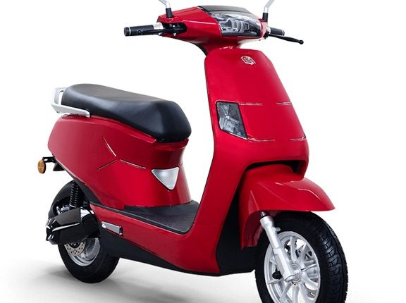 BGAUSS Electric Scooter B8_Red